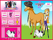 Horseland Dress up