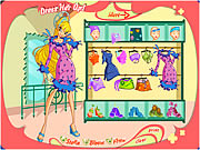 Winx Club Girl Dress Up
